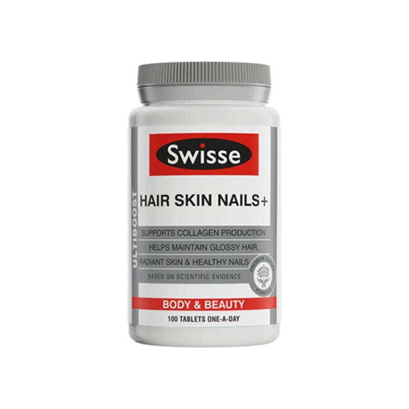 澳洲 Swisse 胶原蛋白片 肌肤光滑 100粒【保税仓】
