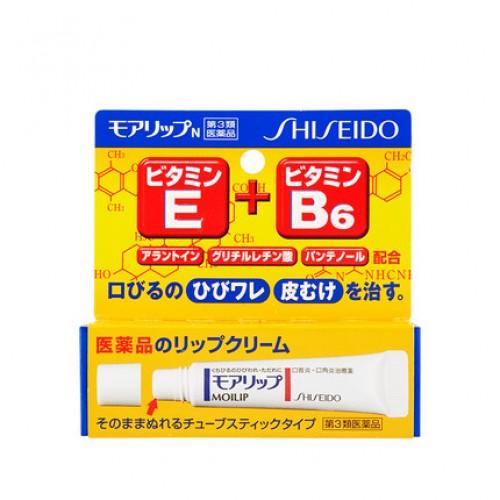 日本 Shiseido资生堂 Moilip药用润唇膏【江阴保税仓】