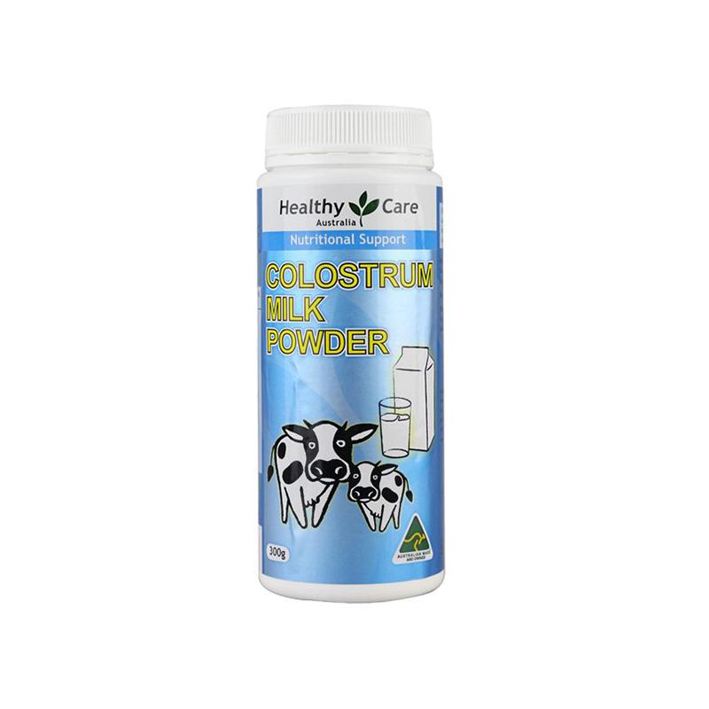 澳洲 Healthy Care 牛初乳粉 健康成长 300g【保税仓】