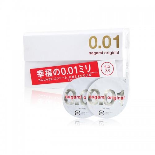 日本 Sagami original 相模幸福001超薄 避孕套 安全套 5只/盒【保税仓】