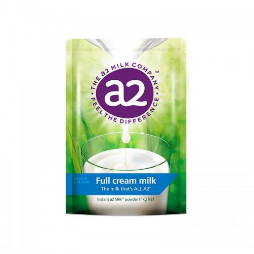 【全脂】新西兰 A2 儿童成人奶粉 早餐速溶奶粉 1kg【保税仓】