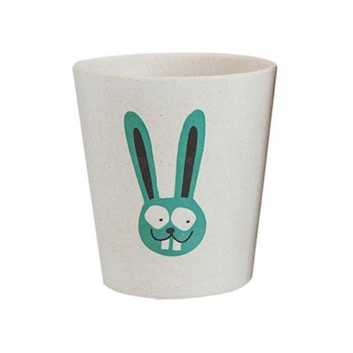 澳洲  JACK N'JILL 天然有机儿童漱口杯环保可生物讲解 兔子图案澳洲【保税仓】