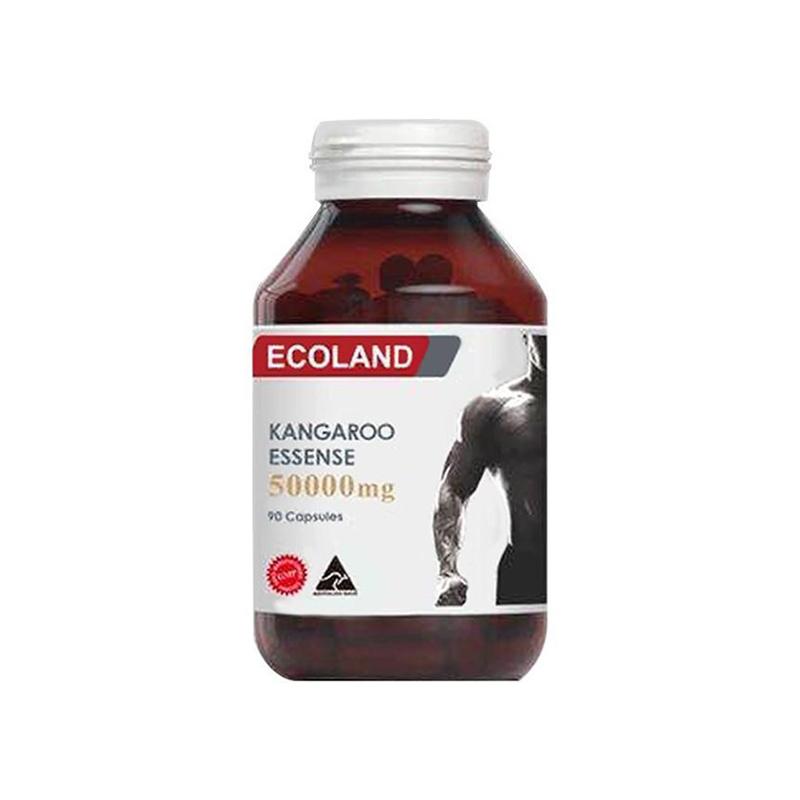 澳洲 Ecoland 高含量红袋鼠精胶囊 90粒【保税仓】