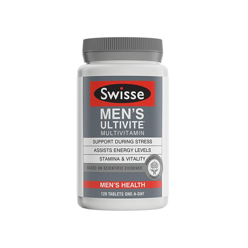 澳洲 Swisse 男性复合维生素 120粒 合生元版【保税仓】